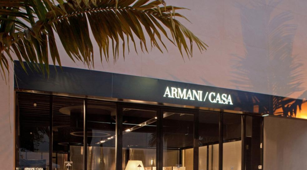 Armani casa signature scent inside miami flagship a smell for Armani arredo casa