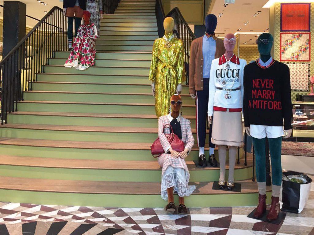 The NEW Gucci Fragrant Frontier  Gucci Dubai Mall 579d2ec606d